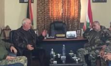 اللواء ابو عرب ترأس اجتماعا للامن الوطني والقوة المشتركة بعين الحلوة