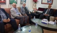وفدٌ قياديَّ من التنظيم الشعبي الناصري زار رابطة الشغيلة