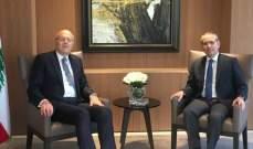 النجاري التقى ميقاتي: نتمنى أن تتشكل الحكومة اللبنانية باسرع ما يمكن