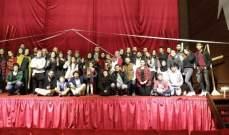 اختتام فعاليات مهرجان لبنان المسرحي الدولي لمونودراما المرأة
