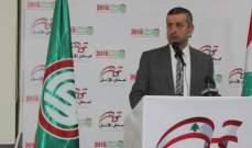 قبيسي: مستمرون مع أهل الجنوب في مسيرة التنمية والتحرير من اجل لبنان