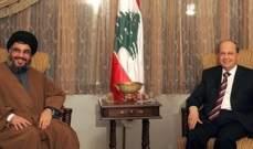 تشدّد حزب الله بتمثيل حلفائه السُنّة يُعادل تشدده بانتخاب ميشال عون!