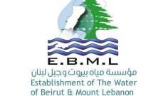 مياه بيروت: قطع المياه عن جبيل بسبب العكار في مجرى نهر ابراهيم