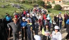 بلدية مشغرة نظمت رحلة ربيعية على قمم جبال مشغرة في عيد العمال