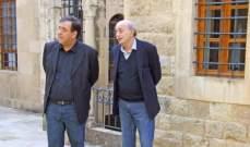 جنبلاط عرض الأوضاع السياسية العامة مع السفير الفرنسي