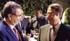 نقولا يشارك بحفل استقبال للطائفة المارونية القبرصية بدعوة من رئيس قبرص