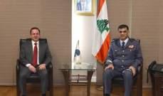 اللواء عثمان التقى كيدانيان وعرض معه الأوضاع العامة