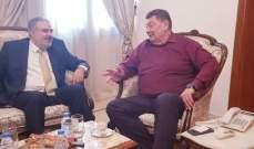 عميد الخارجية بالقومي عرض مع القائم بالاعمال الروسي موضوع النازحين