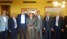 وفد من الأحزاب المنضوية بالجبهة التقدمية العربية التقى لحود: لإقرار قانون انتخابي وطني