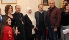 بهية الحريري: الوحدة الوطنية حمت لبنان في الأزمة الأخيرة