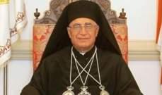 العبسي: البابا يريد من الديانات كلها أن تهتم بالانسان كانسان