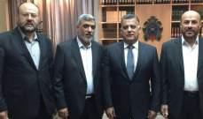 اللواء ابراهيم التقى وفدا من حماس وبحث معه آخر المستجدات