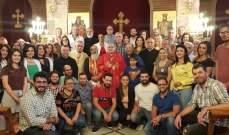 درويش في لقاء اللجان والجمعيات العاملة بالأبرشية : افرحوا فالرب دعاكم
