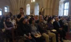 احتفالات عيد الفصح في الوادي المقدس والجوار