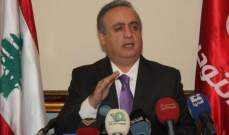 وهاب: بعض القضاء العسكري يعمل لدى الإعلام بعد تسريب التحقيقات في ملف أبو ذياب