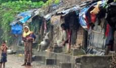 حريق يلتهم مخيماً يضم 200 لاجئ من الروهينغا في الهند