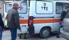 الدفاع المدني: نقل جثة رجل من حارة صخر الى مستشفى المعونات