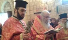 كيرياكوس ترأس القداس الاحتفالي لمناسبة عيد الصعود