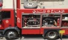 إخماد حريق داخل سيارة رباعية الدفع في نابيه بالمتن