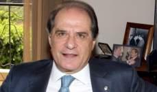 """سجعان قزي لـ""""النشرة"""": الصراعات الخارجية لا تزال تحتجز لبنان وهناك لا مسؤولية بالحديث عن افلاس الدولة"""