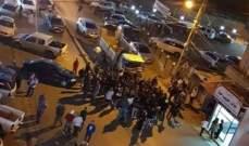 جريحة في تصادم على أوتوستراد ضهر العين واعتصام احتجاجي