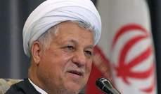 الغارديان: إيران ستعيد فتح التحقيق بشأن وفاة رفسنجاني