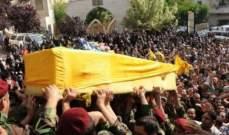 النشرة: إطلاق نار في حارة صيدا خلال تشييع أحد عناصر حزب الله