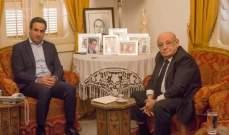 معوّض استقبل ابي نصر ودعم لائحته بانتخابات الرابطة المارونية
