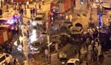 7 قتلى وعشرات الجرحى في انفجار سيارة مفخخة في بنغازي بليبيا