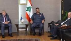 اللواء عثمان التقى الأبيض وبحث معه الاوضاع العامة