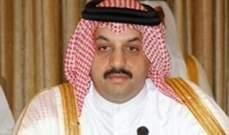 وزير دفاع قطر:ترامب هو القادر على حل أزمة الخليج الحالية بمكالمة هاتفية