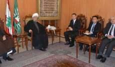 المفتي قبلان استقبل سفير الصين في لبنان وعرضا الاوضاع العامة