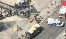 """اعتقال قائد السيارة """"الفان"""" التي صدمت المارة في تورنتو - كندا"""