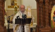 المطران بسترس ترأس قداس اثنين الباعوث: المسيح خلصنا من الموت والخطيئة
