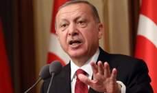 اردوغان: أنقرة لن تخسر الحرب الاقتصادية رغم انهيار الليرة التركية