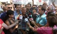 إعتصام للاساتذة المتقاعدين برياض الصلح احتجاجا على عدم تنفيذ المادة 18 من القانون 46