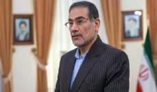 شمخاني: سنجعل الصهاينة يندمون على إذكائهم الأزمة في سوريا