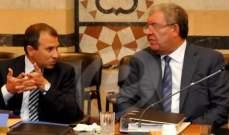 المشنوق أطلق اول اشارة لباسيل... تحديد خيارات تمهيدا للانتخابات