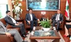اللواء ابراهيم التقى وفداً من لجنة البلديات المركزية في التيار الحر