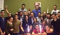 نديم الجميل يؤكد لطلاب اليسوعية أن الجامعة ستحافظ على هويتها اللبنانية