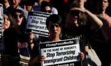 تجدد المظاهرات في نيويورك ضد قرار ترامب بفصل أطفال المهاجرين عن ذويهم