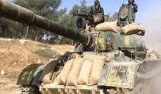 الجيش السوري تصدى لمحاولات تسلل مجموعات إرهابية على نقاط عسكرية بريف حماة