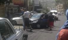النشرة: جريحان في حادث سير على طريق عين الدلب شرق صيدا