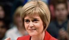 رئيسة وزراء إسكتلندا:استقلال بلادنا عن بريطانيا هو الحل الوحيد للمشاكل التي نواجهها