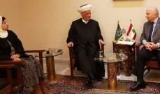 هرموش التقى دريان: نثمن موقف دار الفتوى المتساوي بين الجميع