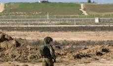 إصابة جندي إسرائيلي بإطلاق نار على دورية قرب حدود غزة