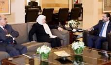 الحريري عرض مع النائبين الحريري ونجم لشؤون متعلقة بلجنة الأشغال النيابية