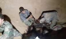 النشرة: الجهات الأمنية السورية تعثر على اسلحة متنوعة بالغوطة الشرقية