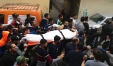 تشييع عبد الرحيم المقدح الذي قتل في اشتباك عين الحلوة