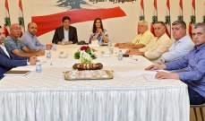 اجتماع في معراب بحث في مشاريع انمائية تخص بلدة حدشيت
